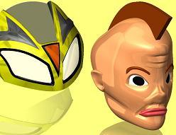 自作ライダーマスクとその正体
